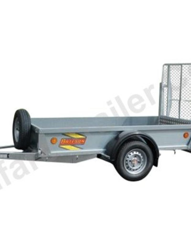 Batesons Model 0852 Bateson Single Axle 2.4 x 1.5m Trailer| Fieldfare Trailer Centre