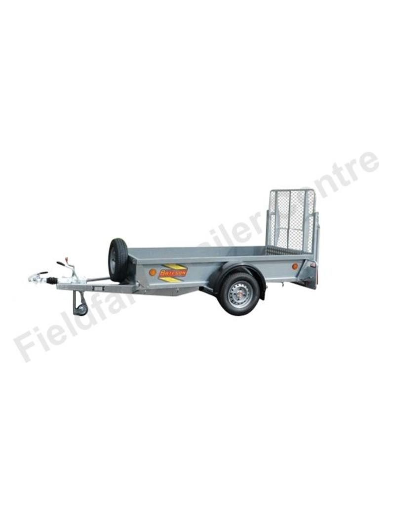 model 0852 bateson single axle 2 4 x 1 5m trailer