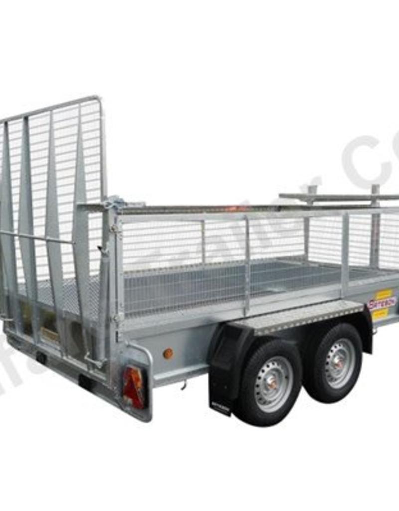 Batesons Model 1054 Bateson Twin Axle 3 x 1.5m Trailer| Fieldfare Trailer Centre