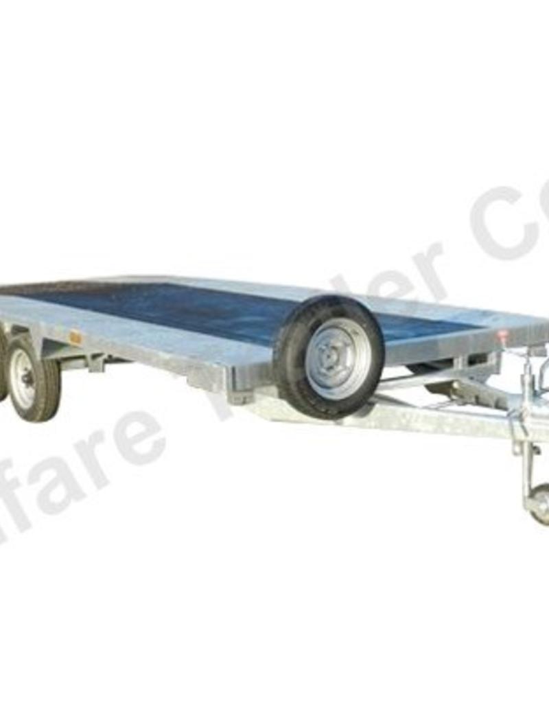 Batesons Model 354B 4.3 x 2.1m Beaver Tail Transporter Trailer | Fieldfare Trailer Centre