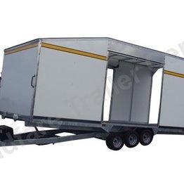 Batesons Model PT66VT 5.4 x 2.3m Enclosed Tilt Transporter