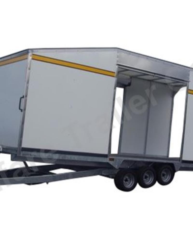 Batesons Model PT66VT 5.4 x 2.3m Enclosed Tilt Transporter | Fieldfare Trailer Centre