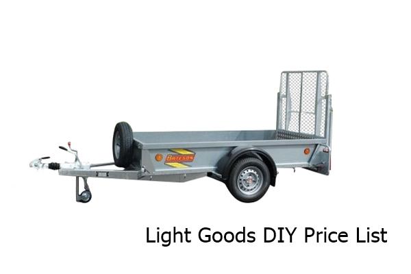 DIY Light Goods Trailers