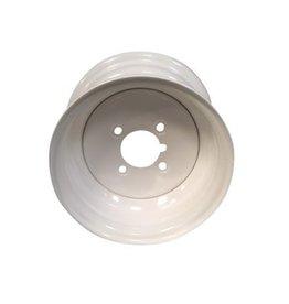 "Starco 10 inch Rim Steel 6.00J x 4"" PCD x 4 Holes in White"