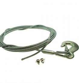 Maypole 6m Long Winch Cable with Hook