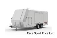 Race Sport Price List