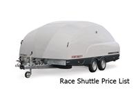 Race Shuttle Price List