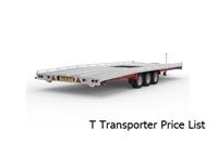 T Transporter Price List