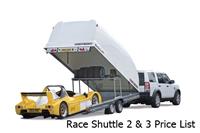 Race Sport 2 & 3 Price List