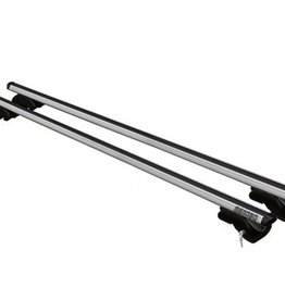 MWAY Universal Ally Roof Bars 1.35m for Raised Roof Rails