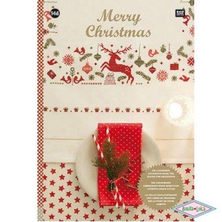 Rico Rico borduurboek merry christmas 146