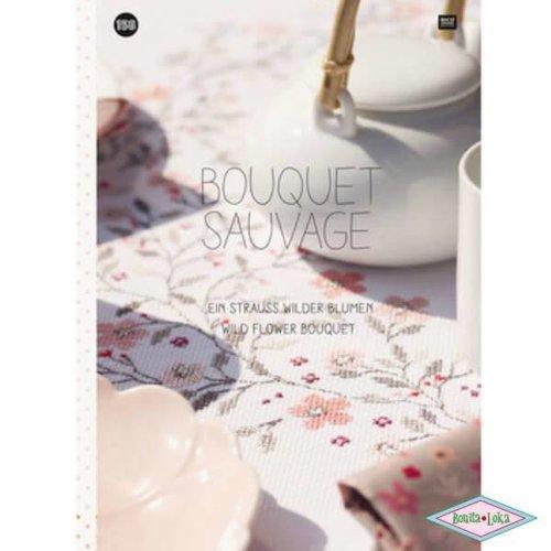 Rico Rico Borduurboekje bouquet savage 158
