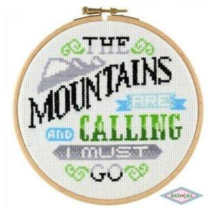 DMC Stitchonomy the Mountains