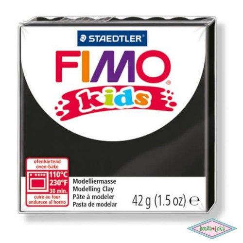 Fimo kids 42g zwart