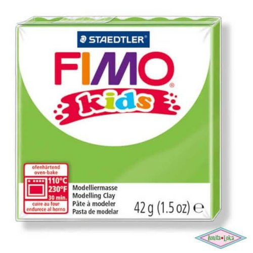 Fimo kids 42g Lichtgroen
