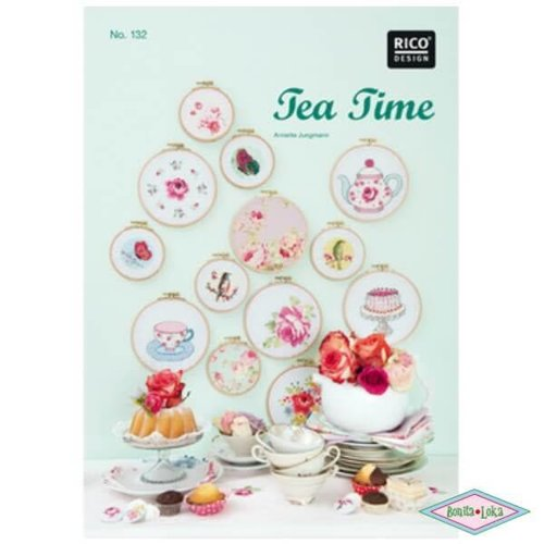 Rico Rico 132 Borduurboek Tea Time