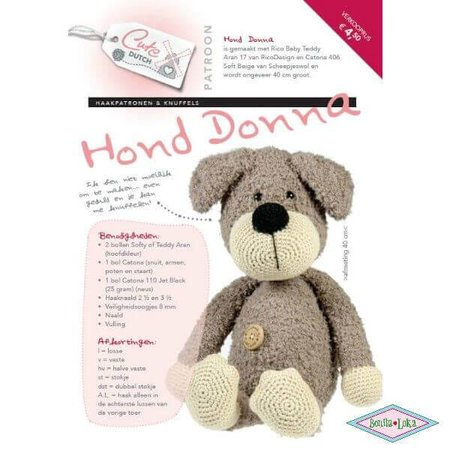 Cute Dutch hond Donna