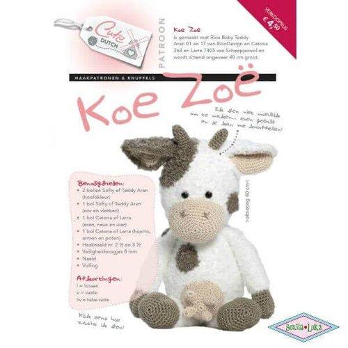 Cute Dutch koe Zoe