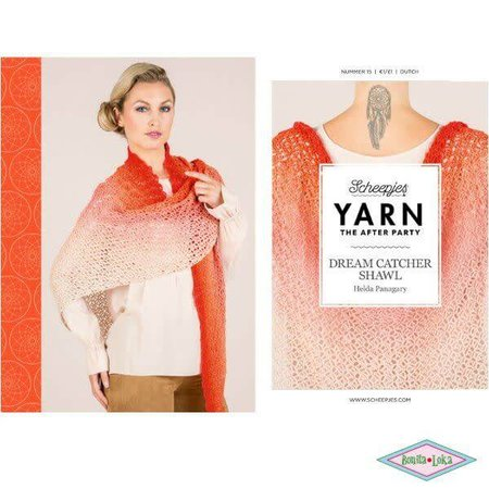 Yarn the afterparty 15 Dream Catcher Shawl