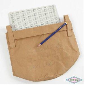 Wasbaar papier Bruin