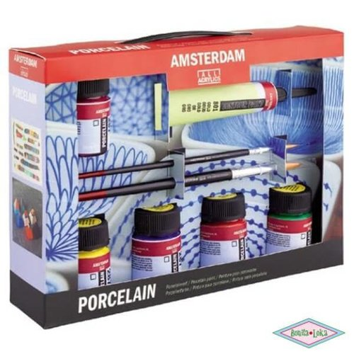 Amsterdam porselein set