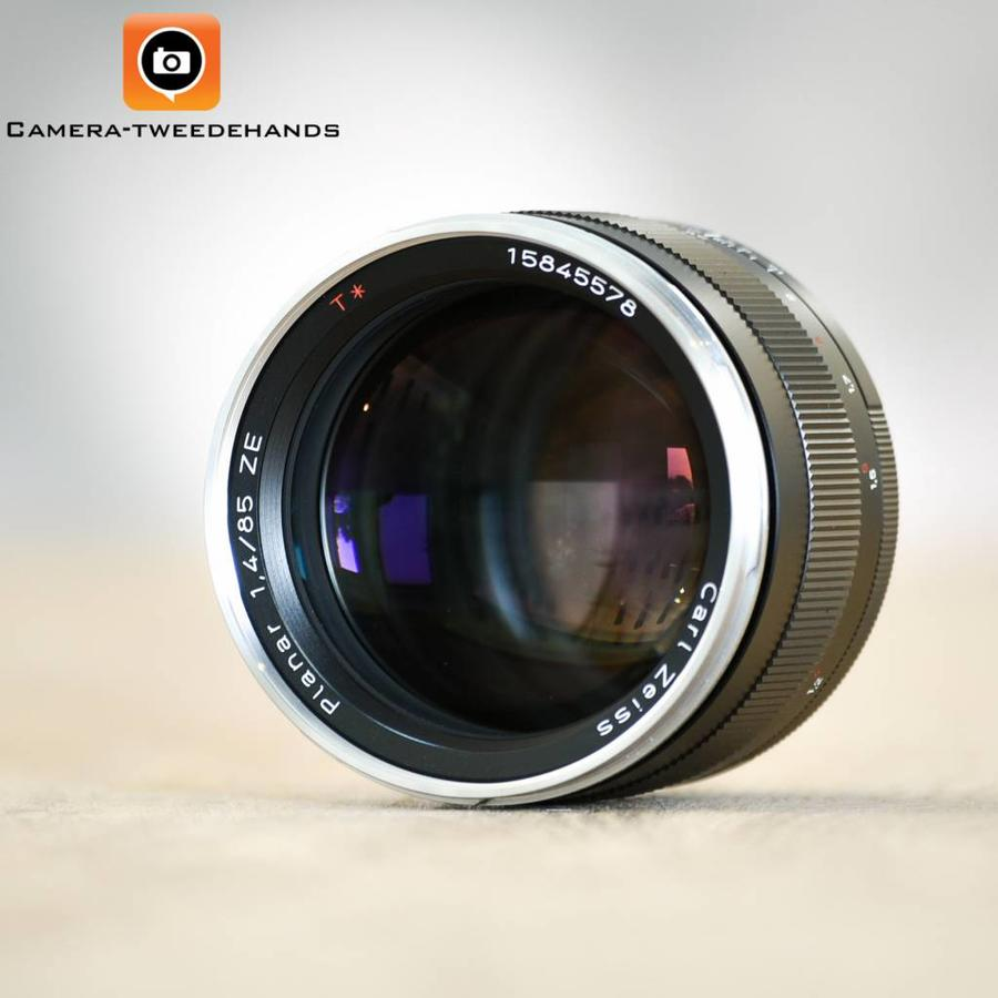 Carl Zeiss 85mm 1.4  Planar T*  ZE (Canon)
