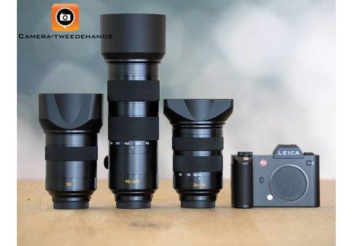 Ultime Leica SL set -- 24-90mm - 90-280mm - 50mm 1.4