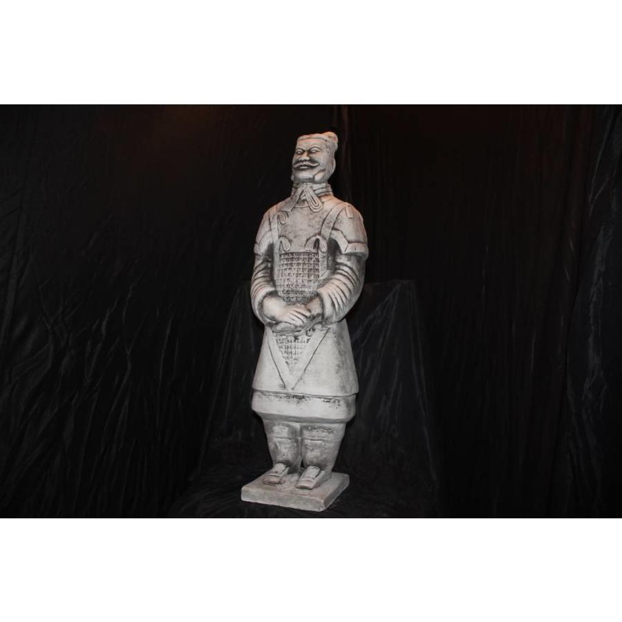 poortwachters, soldaat terracotta leger ( H 61 cm)