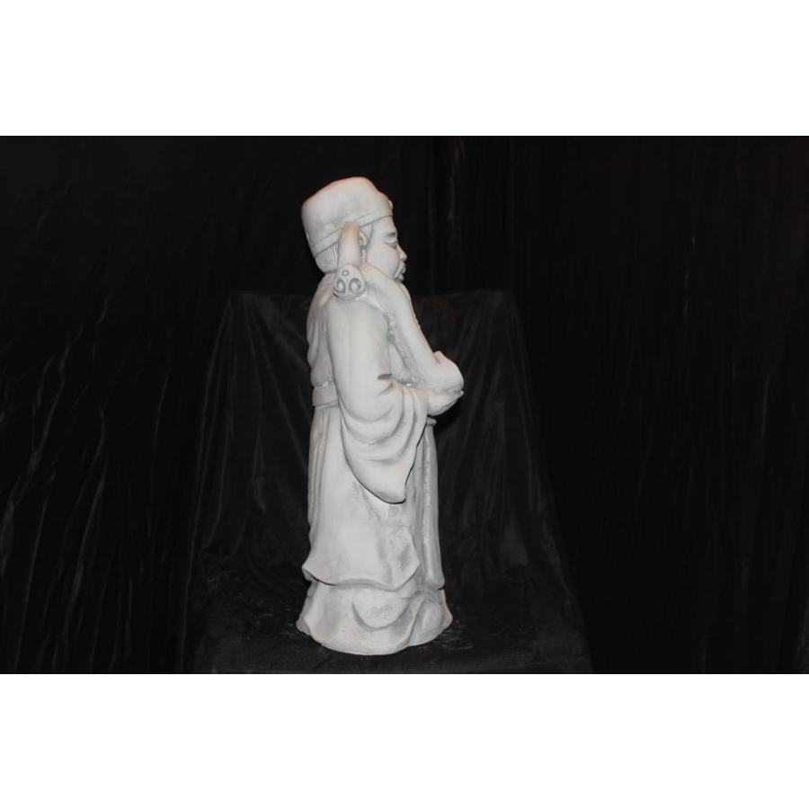 Lu Xing Chinese geluk god ( H 48 cm)