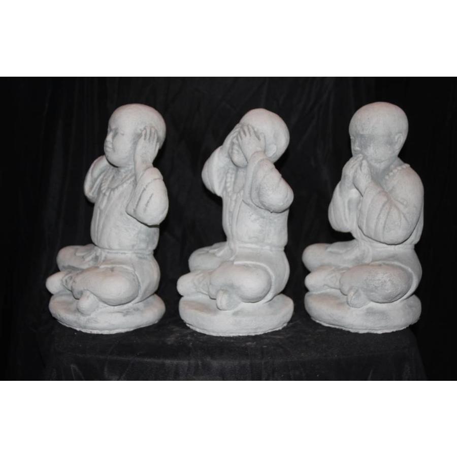 Set horen, zien en zwijgen Boeddha's-3