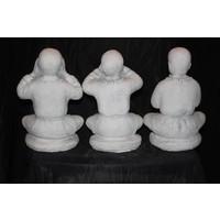 thumb-Set horen, zien en zwijgen Boeddha's-4