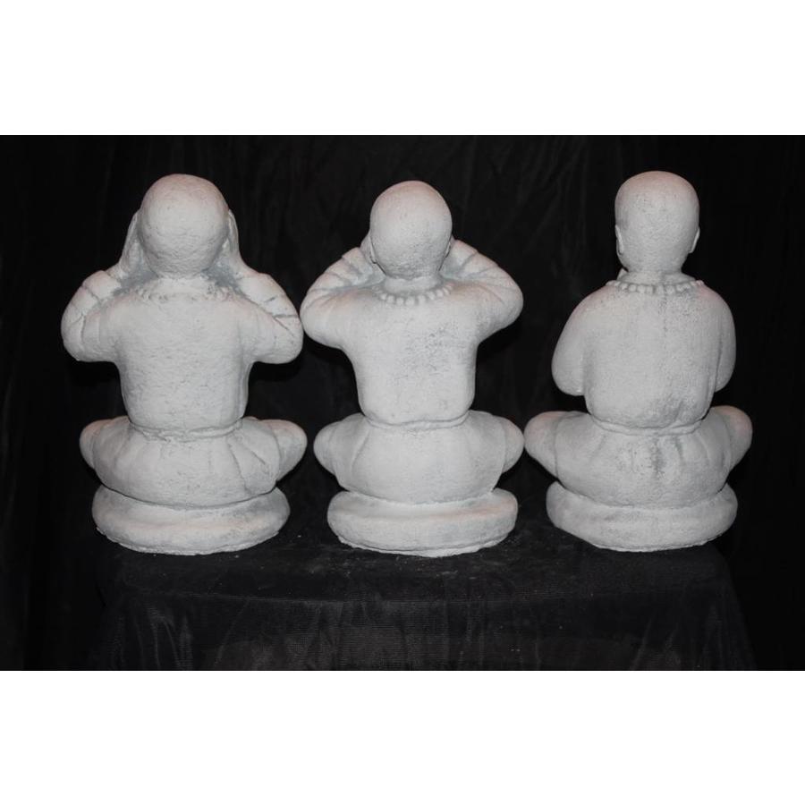 Set horen, zien en zwijgen Boeddha's-4