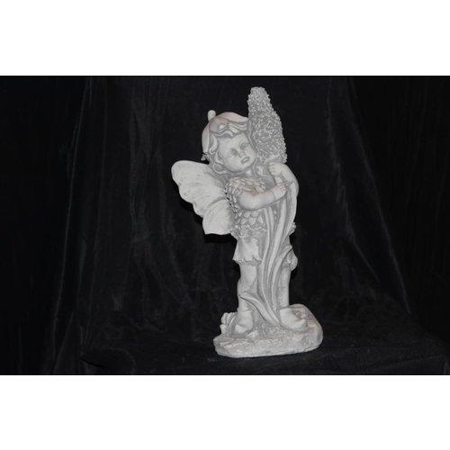 sprookjes figuur  bloemen elfje
