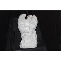 thumb-Engel leunend op paal-4