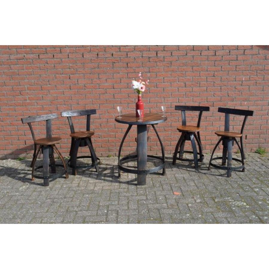 Bistro tafeltje met 4 stoelen