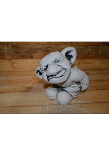 Een trol, Jötun ( H 25 cm)