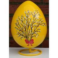 thumb-Ei voor Pasen, beschilderd ei ( geel )-1