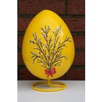 thumb-Ei voor Pasen, beschilderd ei ( geel )-2