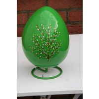 Beschilderd ei (groen)