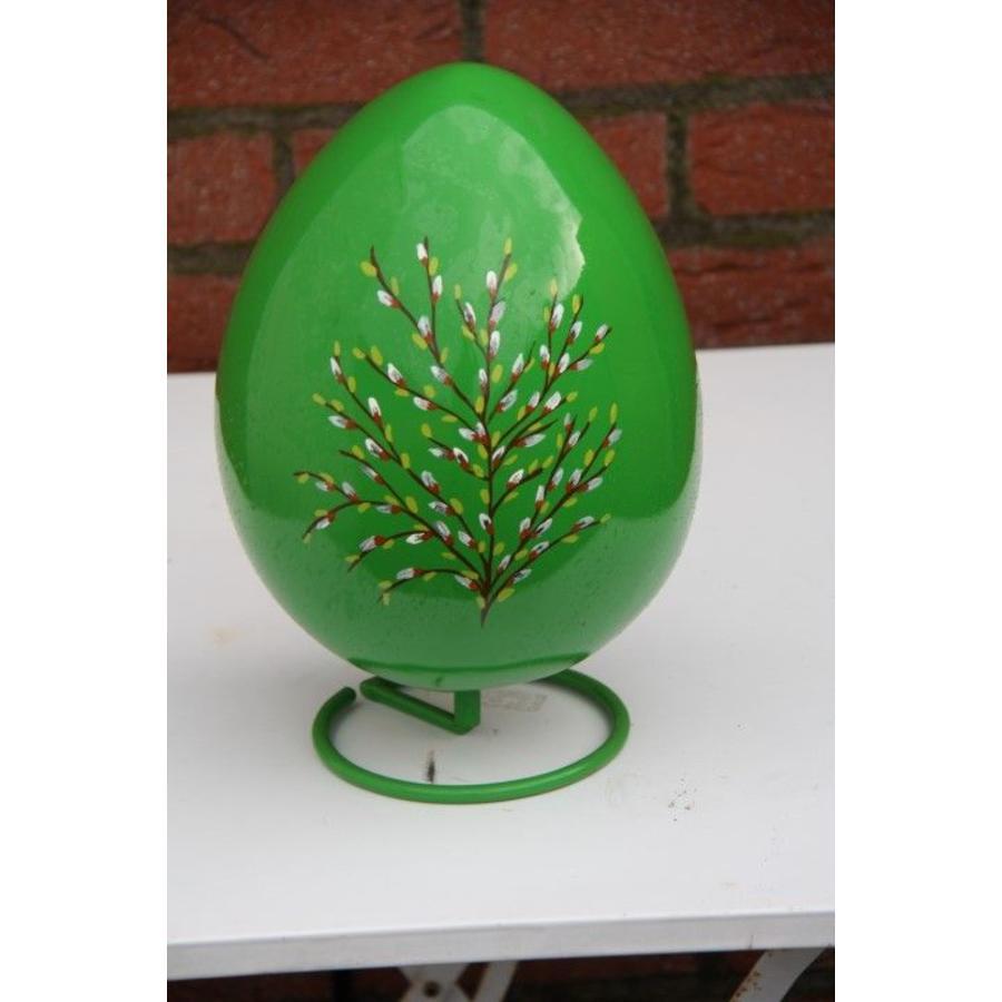Beschilderd ei (groen)-2