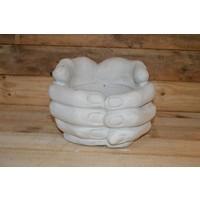 Handen Bloembak ( H 25 cm)