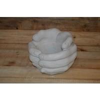 thumb-Bloembak van handen-3