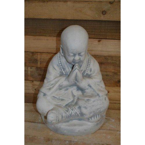 Monnik biddend ( H 47 cm)