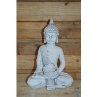 thumb-Boeddha met theelichtje ( H 31 cm)-1