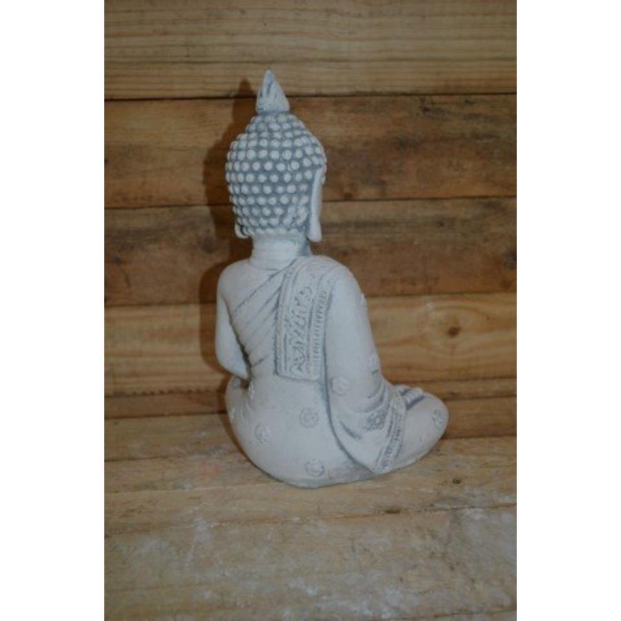 Boeddha met theelichtje ( H 31 cm)-3