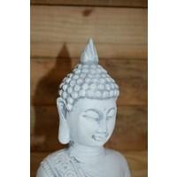 thumb-Boeddha met theelichtje ( H 31 cm)-4