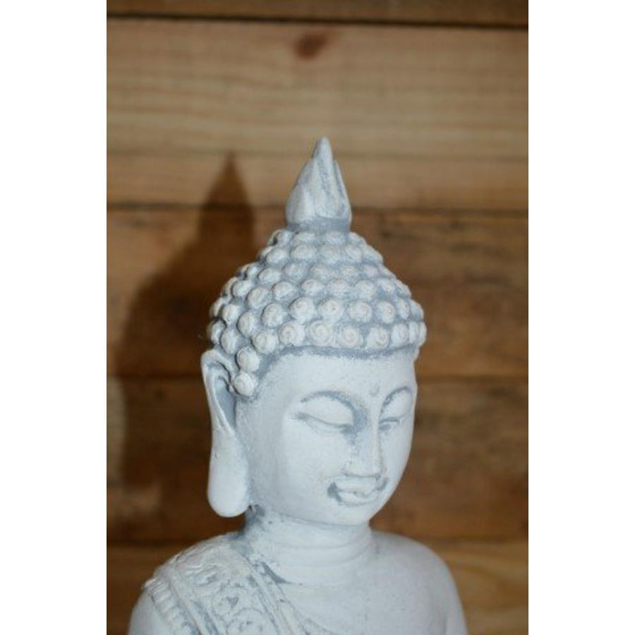 Boeddha met theelichtje ( H 31 cm)-4