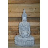 thumb-Boeddha met een schaaltje ( H 64 cm)-1