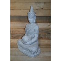 thumb-Boeddha met een schaaltje ( H 64 cm)-2