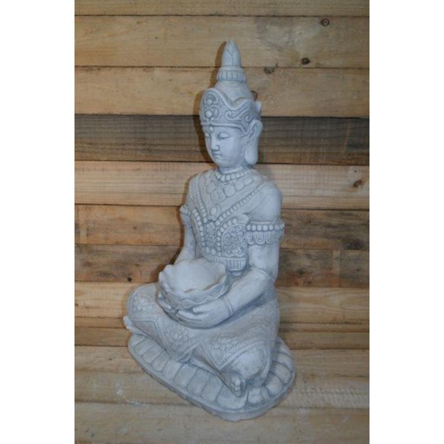 Boeddha met een schaaltje ( H 64 cm)-2